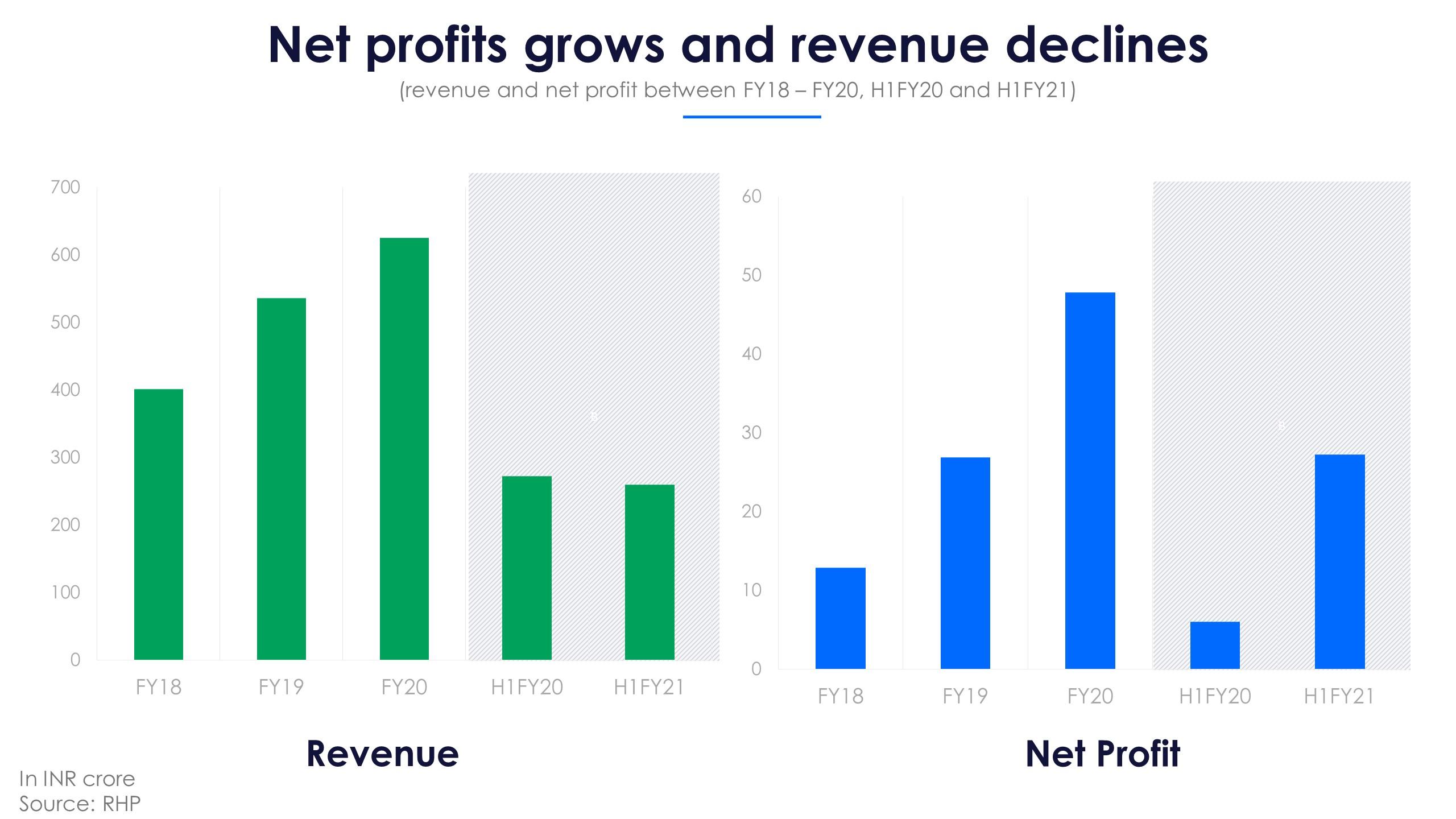Indigo Paints Revenue and Net Profit